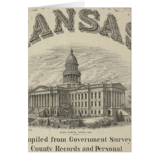 Title Page Kansas Official State Atlas Card