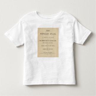 Title Page Letts's popular atlas T Shirt