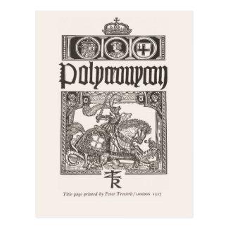 Title page; London 1527 Postcard