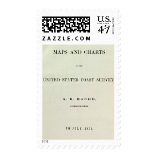 Title Page Maps and charts Postage
