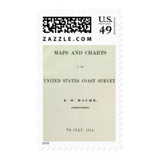 Title Page Maps and charts Stamp