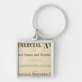 Title Page New commercial atlas Keychain