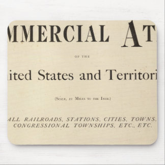 Title Page New commercial atlas Mouse Pad