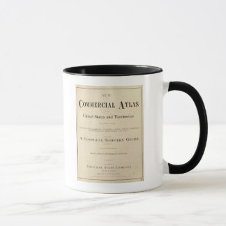 Title Page New commercial atlas Mug