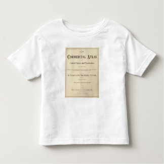 Title Page New commercial atlas Toddler T-shirt