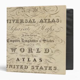 Title Page New universal Atlas 3 Ring Binder