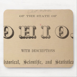 Title Page of a Topographical Atlas Mouse Pad