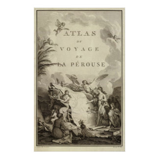 Title Page of Atlas of France Poster