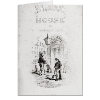 Title page of 'Bleak House' Card