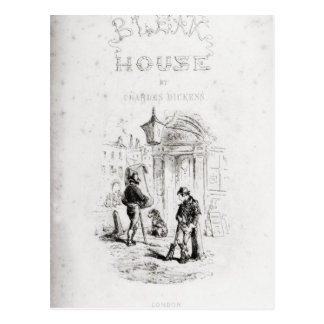 Title page of 'Bleak House' Postcard