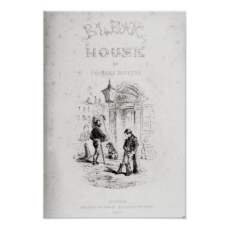 Title page of Bleak House Poster