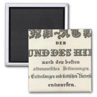 Title Page of HandAtlas 2 Inch Square Magnet
