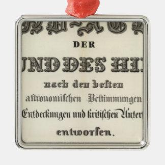 Title Page of HandAtlas Metal Ornament