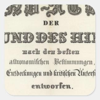 Title Page of HandAtlas Square Sticker