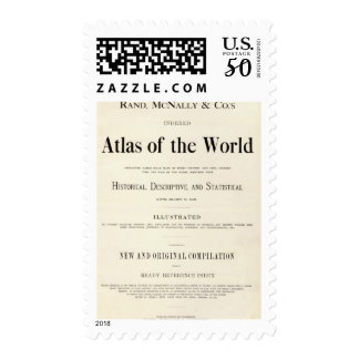 Title Page of Indexed Atlas Postage