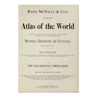 Title Page of Indexed Atlas Poster