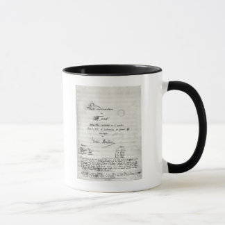 Title page of 'La Damnation de Faust' Mug