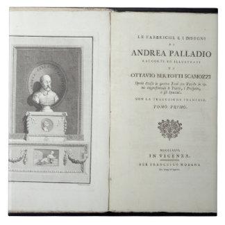 Title page of 'Le Fabbriche e i Disegni di Andrea Ceramic Tile