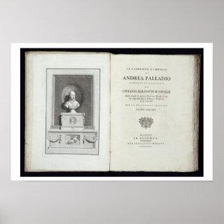 Title page of 'Le Fabbriche e i Disegni di Andrea Poster