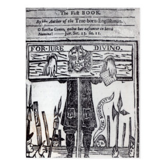 Title-page of the first book of 'Jure Postcard