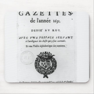 Title page of the first collection of 'La Mouse Pad