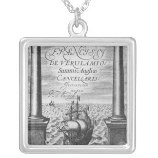 Title page of the First Edition Square Pendant Necklace