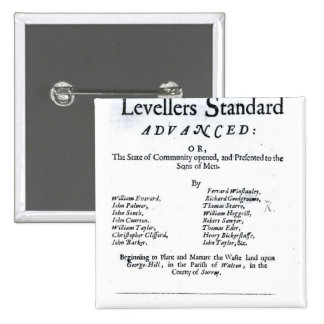 Title page of The True Levellers' Standard Button