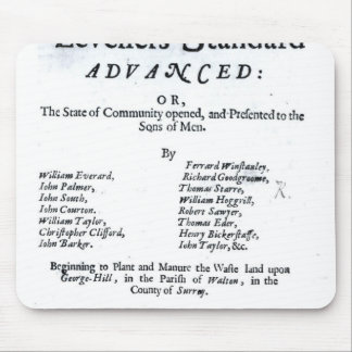 Title page of The True Levellers' Standard Mouse Pads
