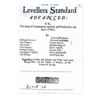 Title page of The True Levellers' Standard Postcards