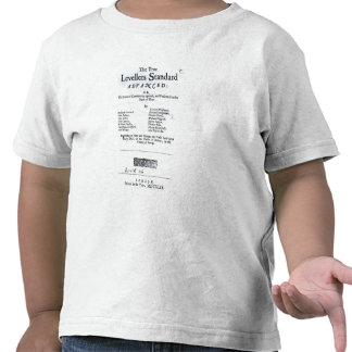 Title page of The True Levellers' Standard T Shirts