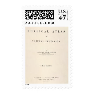 Title Page Physical atlas of natural phenomena Postage