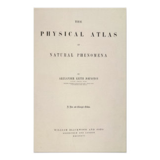 Title Page Physical atlas of natural phenomena Poster