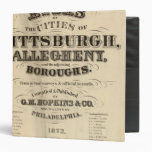 Title Page Pittsburgh, Allegheny atlas 3 Ring Binder