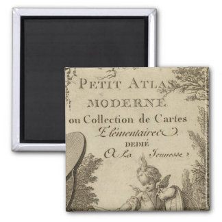 Title Page Small modern atlas Magnet