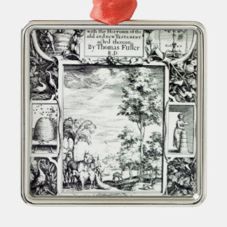 Title-page to 'A Pisgah-sight of Palestine' Metal Ornament