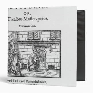 Title page to 'Mischeefes Mysterie or Treasons 3 Ring Binder