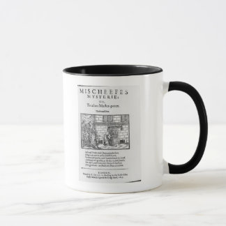 Title page to 'Mischeefes Mysterie or Treasons Mug