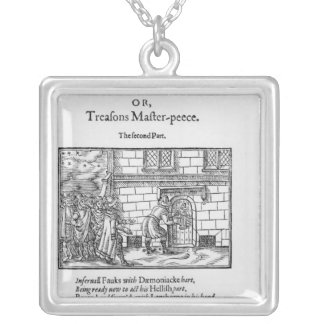 Title page to 'Mischeefes Mysterie or Treasons Silver Plated Necklace