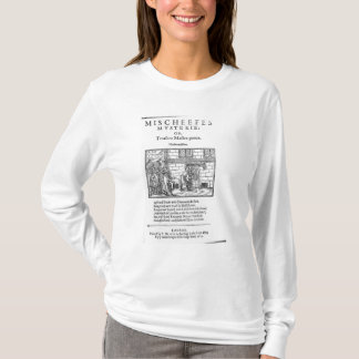 Title page to 'Mischeefes Mysterie or Treasons T-Shirt