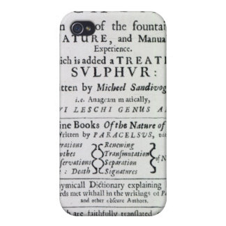 Title page to the English edition iPhone 4/4S Cover