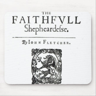 Title Page to 'The Faithfull Shepherdess' Mouse Pad