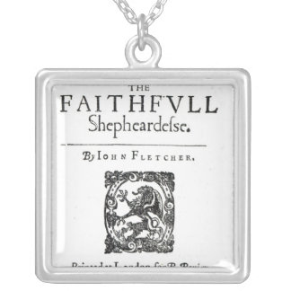 Title Page to 'The Faithfull Shepherdess' Jewelry