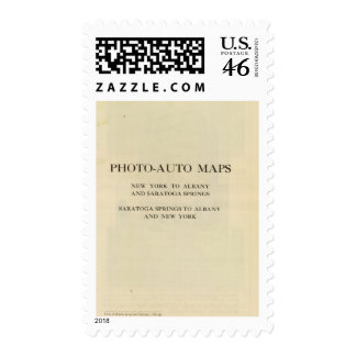 Title page to the photo section stamp