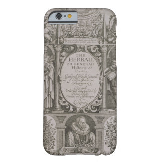 Title page to the second edition of 'The Herball' Barely There iPhone 6 Case