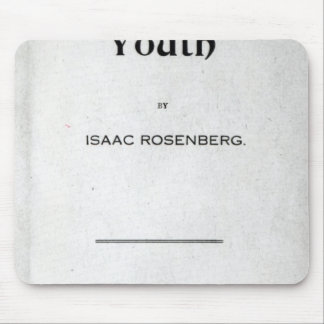 Title page to 'Youth' Mouse Pad