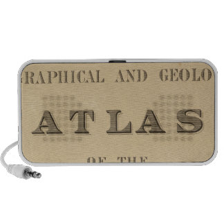 Title Page Topographical and geological atlas Laptop Speakers