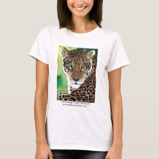 Title: Shining Through The Jungle (Leopard print) T-Shirt