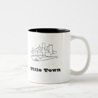 Title Town Two-Tone Coffee Mug