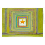 Titled:  All Wishes Granted - star light fun ART Greeting Card