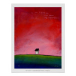 Titled:  Ambitious  ~  Beautiful floating house Poster